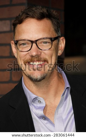 Matthew Lillard at the Los Angeles premiere of 'Trouble With The Curve' held at the  Mann's Village Theatre in Westwood on September 19, 2012.