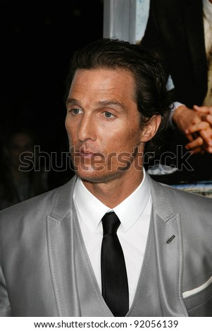 "Matthew McConaughey  at ""The Lincoln Lawyer"" Los Angeles Screening, Arclight Theater, Hollywood, CA. 03-10-11"