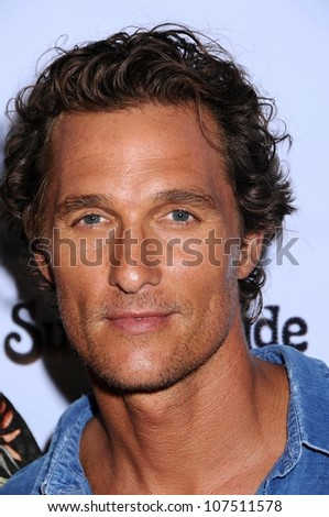 Matthew McConaughey  at the Los Angeles Premiere of 'Surfer Dude'. Malibu Cinemas, Malibu, CA. 09-10-08