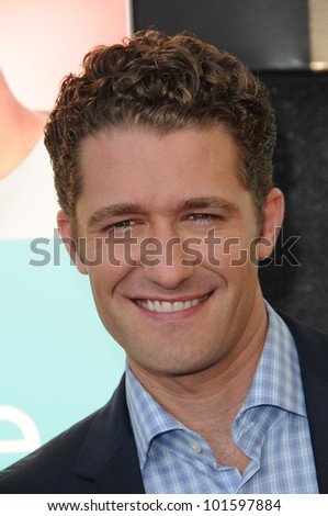 Matthew Morrison at the  'Glee' Academy Event, Henry Fonda Theater, Hollywood, CA. 07-27-10