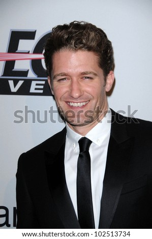 Matthew Morrison at The Recording Academy and Clive Davis Present The 2010 Pre-Grammy Gala - Salute To Icons, Beverly Hilton Hotel, Beverly Hills, CA. 01-30-10