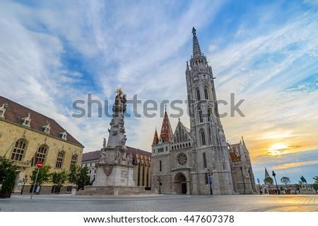 Matthias Church, Budapest - stock photo