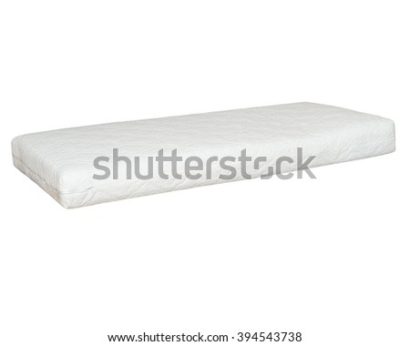 mattress. bedding. background isolated - stock photo