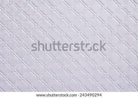 mattress cushion texture for background usage.