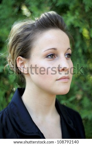 Mature Attractive Young Business Woman - stock photo