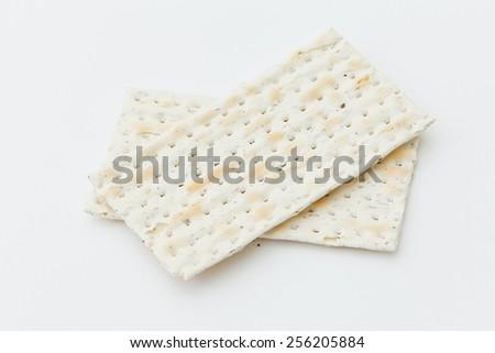 Matza bread - stock photo