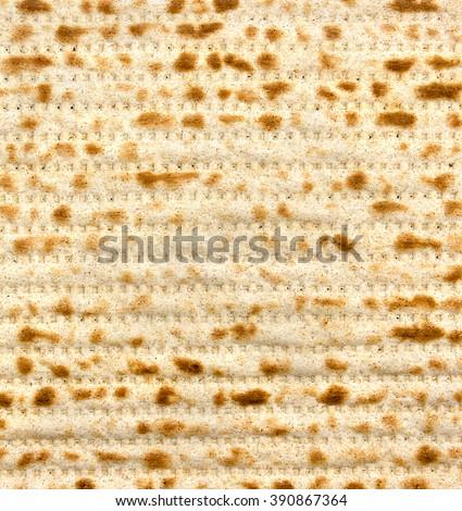 Matzo background (texture) - stock photo