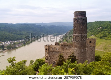 Maus Castle at the Rhine