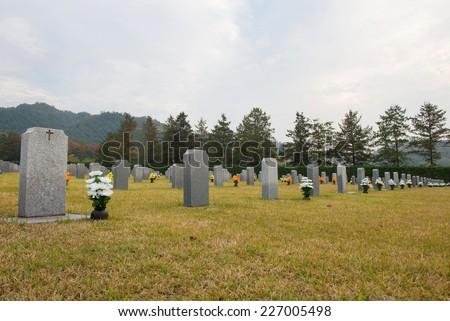 mausoleum - stock photo
