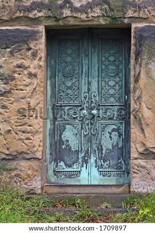 Mausoleum Doors & creepy Door\