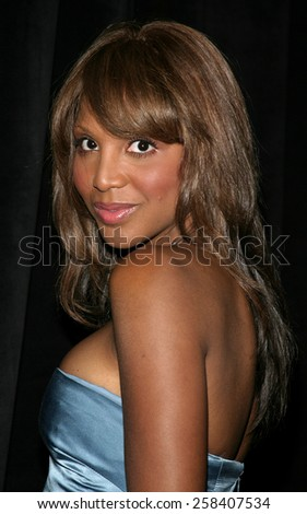 May 19, 2005. Grammy Award-winning recording artist Toni Braxton attends at the Triumph of the Spirit Awards Gala at the Beverly Hilton Hotel in Beverly Hills. - stock photo