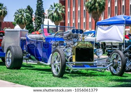 May Tucson Arizona USA Classic Car Stock Photo Royalty Free - Tucson classic car show