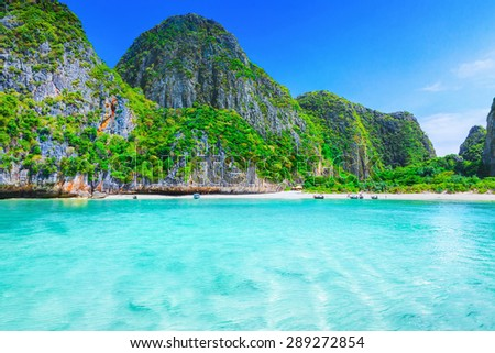 Maya Bay - stock photo