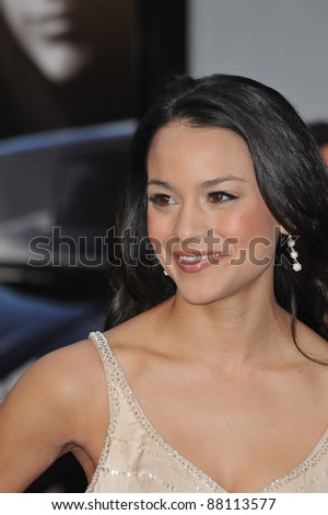 "Maya Stojan at the world premiere of ""Fast & Furious"" at the Gibson Amphitheatre, Universal Studios, Hollywood. March 12, 2009  Los Angeles, CA Picture: Paul Smith / Featureflash"