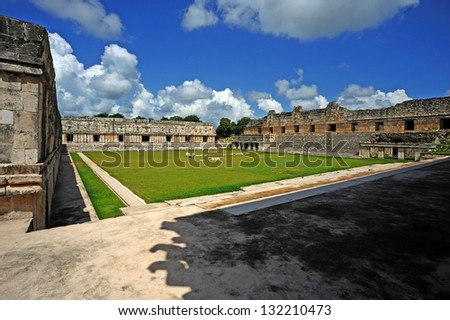 Mayan ruin on the Yucatan