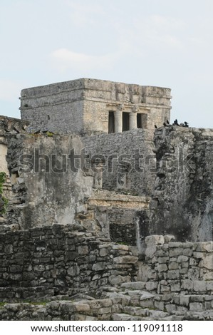 Mayan Tulum Ruins in Mexico