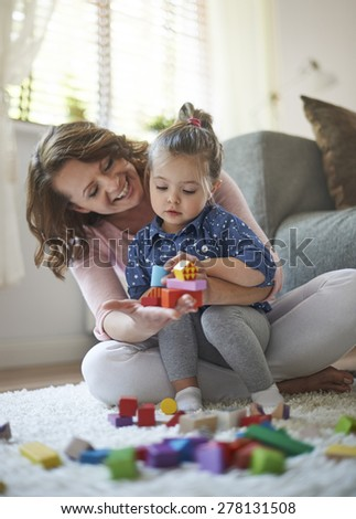 Maybe we're building home for dolls  - stock photo