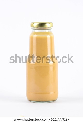 Mayonnaise dressing in bottle