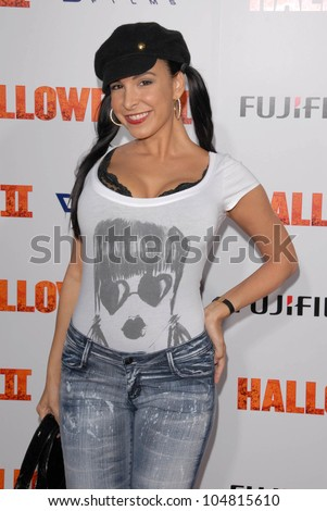 Mayra Veronica  at the Los Angeles Premiere of 'Halloween II'. Grauman's Chinese Theatre, Hollywood, CA. 08-24-09
