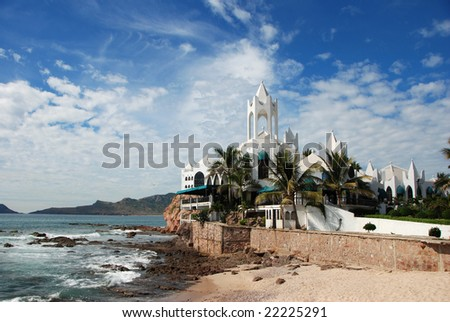 Mazatlan Mexico Coastline - stock photo