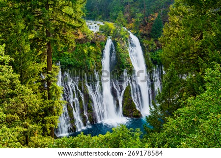 McArthur-Burney Falls in Northern California