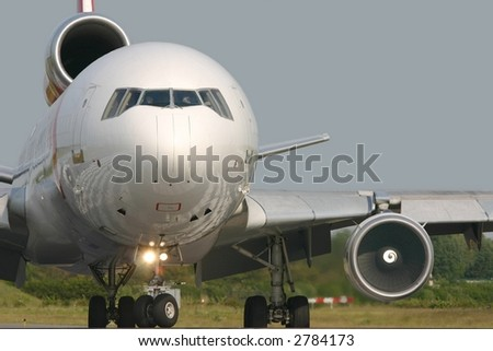 MD-11 - stock photo
