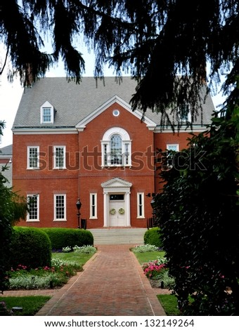 MD Governor's House - stock photo
