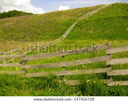 meadow fence