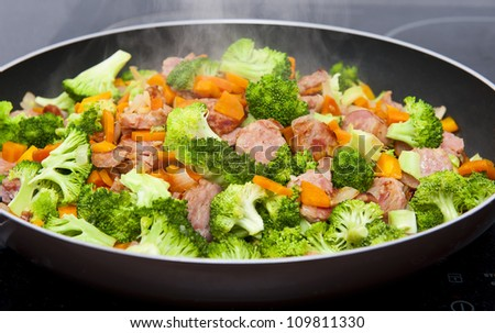 Meal time - stock photo
