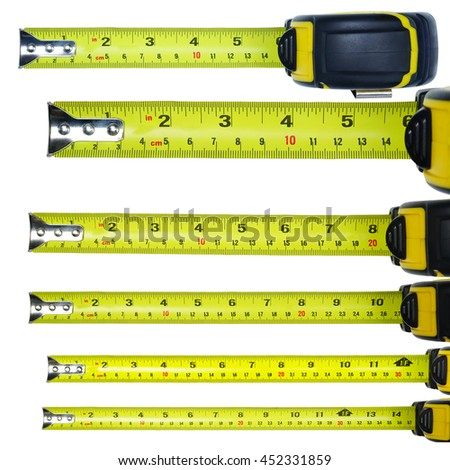 measure tape rolling auto carry belt stock photo edit now