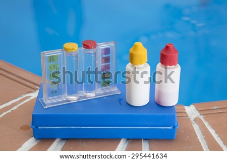 Ph stock photos royalty free images vectors shutterstock for Pool won t show chlorine