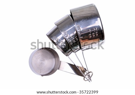 measuring cups - stock photo