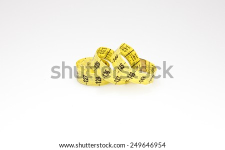 Measuring tape III - stock photo
