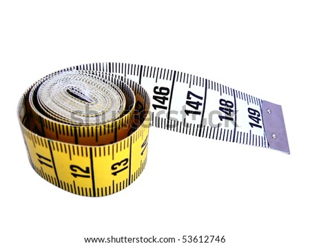Measuring tool in centimeters