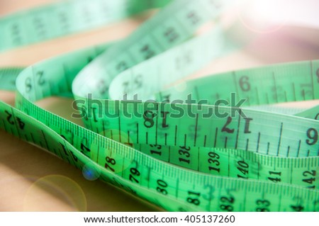 Measuring up - stock photo