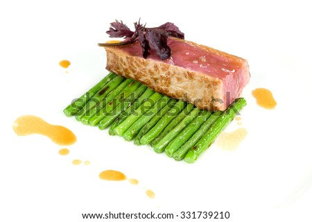 Meat artist - stock photo