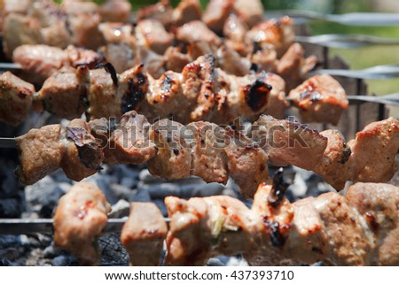 meat bbq grill