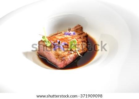 meat gourmet - stock photo
