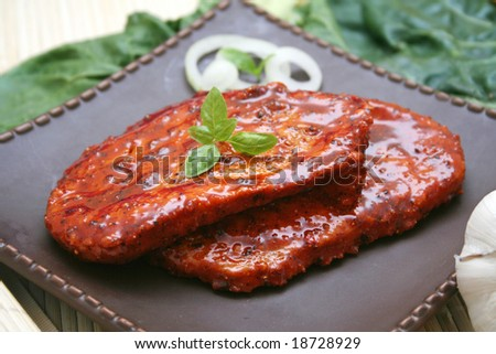 meat of a turkey - stock photo