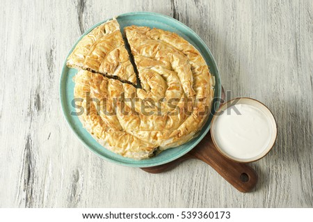 Meat pie (Burek), Turkish and Balkan cuisine