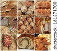 meat specialties from italian slow food fair, Italy, Europe - stock photo