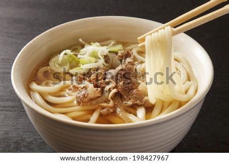 meat udon