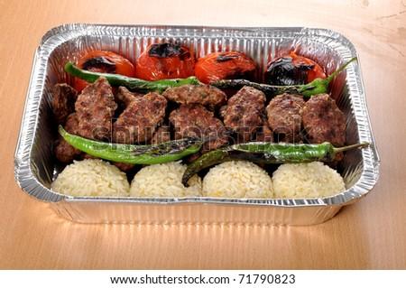 meatball - stock photo