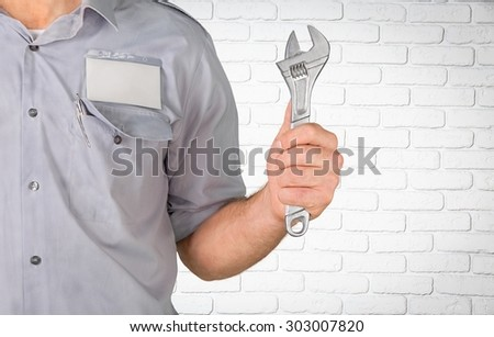 Mechanic, Auto Repair Shop, Car. - stock photo