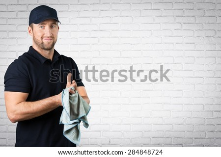 Mechanic, Manual Worker, Small Business. - stock photo