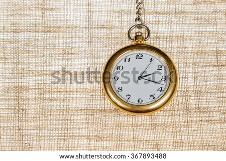 Mechanical pocket watches - stock photo