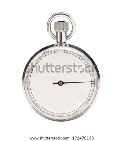 Mechanical stopwatch - stock photo