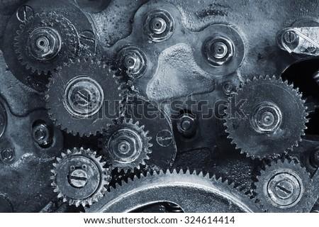 Mechanism - stock photo