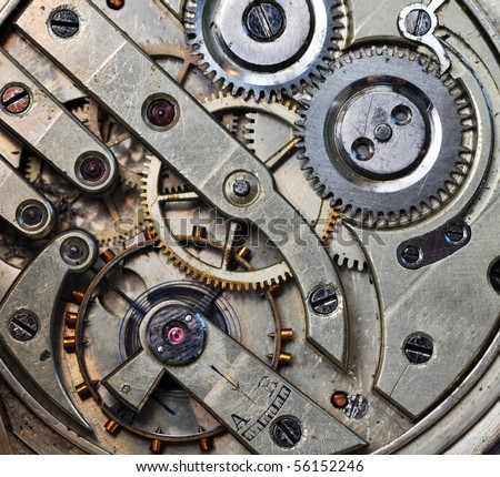 mechanism - stock photo