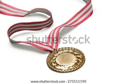 Medal, Gold Medal, Award. - stock photo